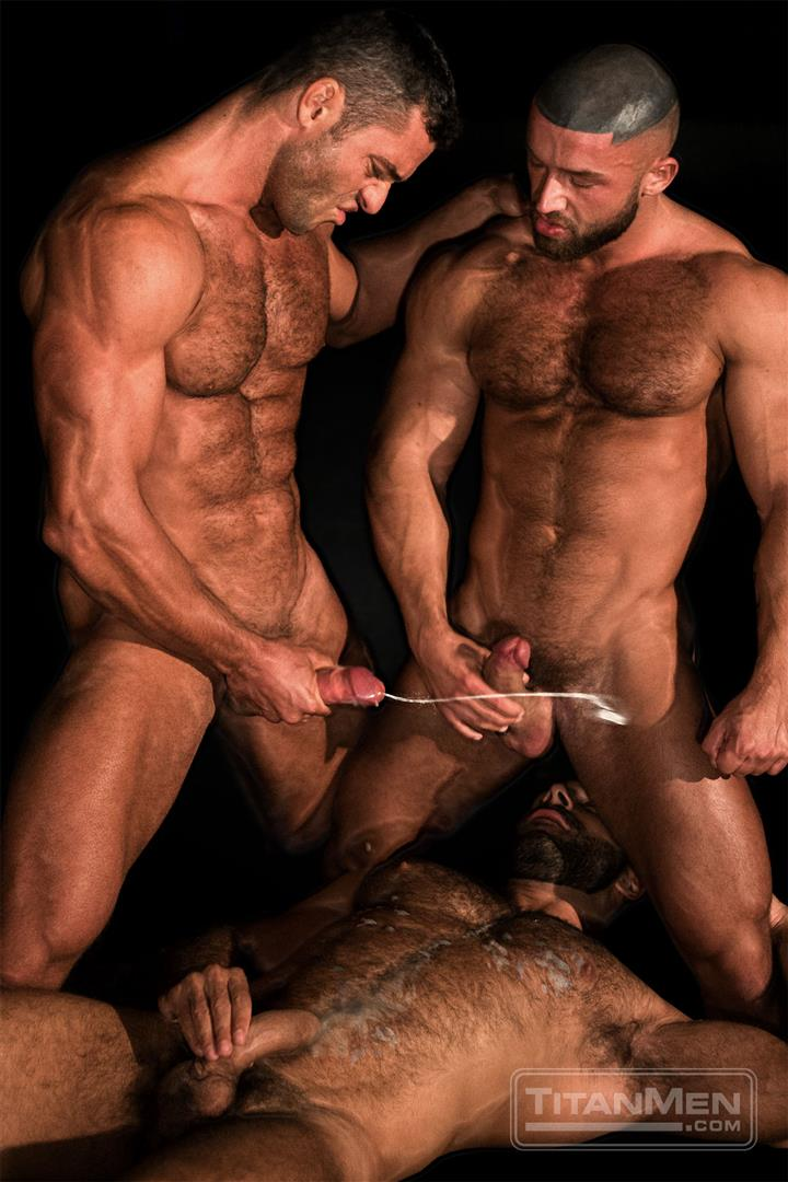 TitanMen-Cum-Shots-from-Hairy-Muscle-Hunks-Amateur-Gay-Porn-1 One Video and A Gallon Of Hot Cum