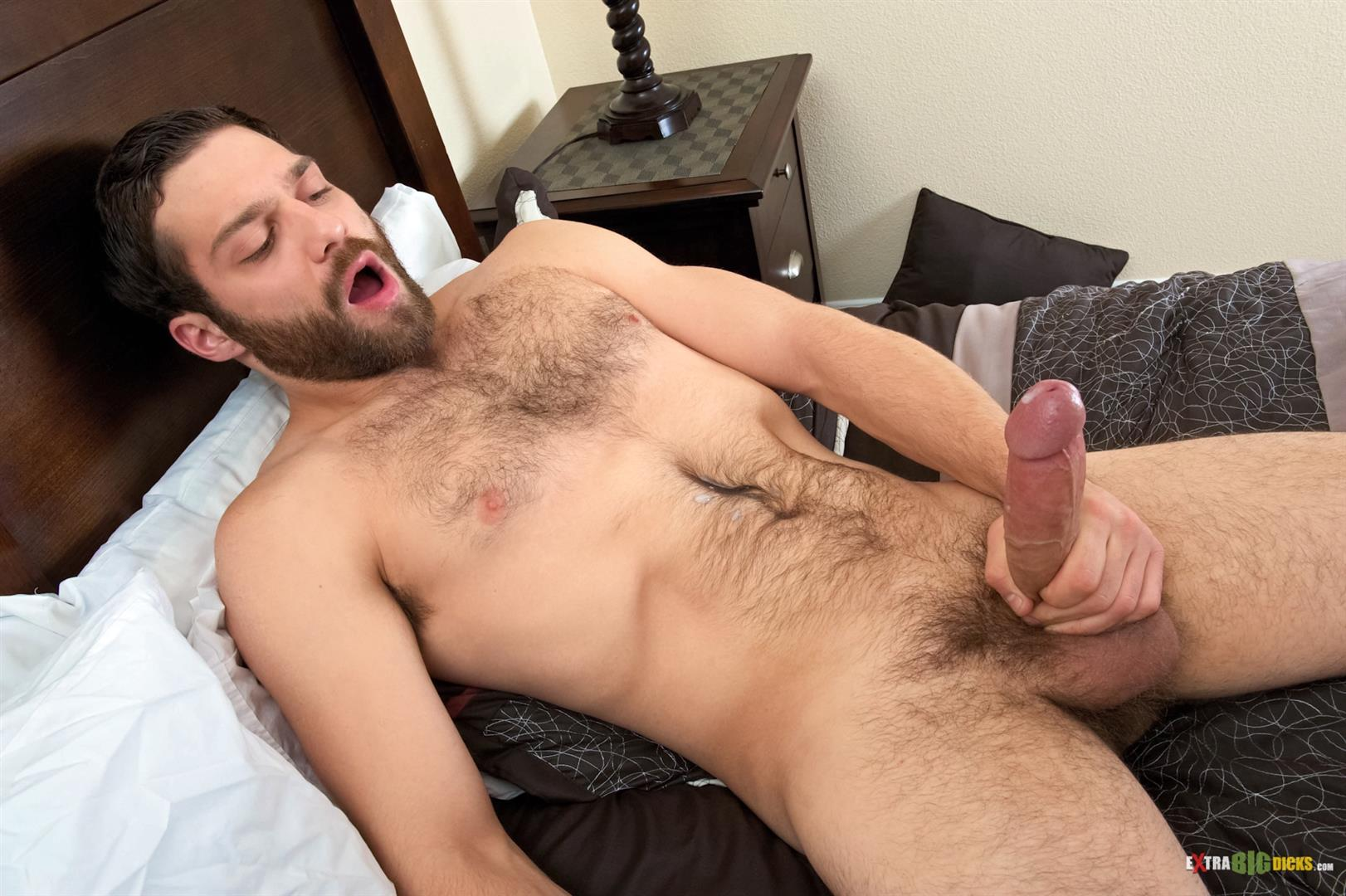 Extra-Big-Dicks-Tommy-Defendi-Hairy-Muscle-Guy-Jerking-Off-Amateur-Gay-Porn-14 Hairy Muscle Stud Tommy Defendi Jerking Off His Big Thick Cock