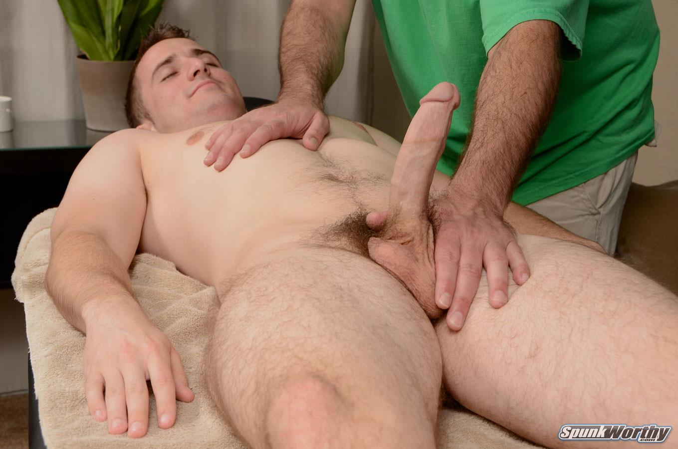 A gay man with two cocks fucking first time 10