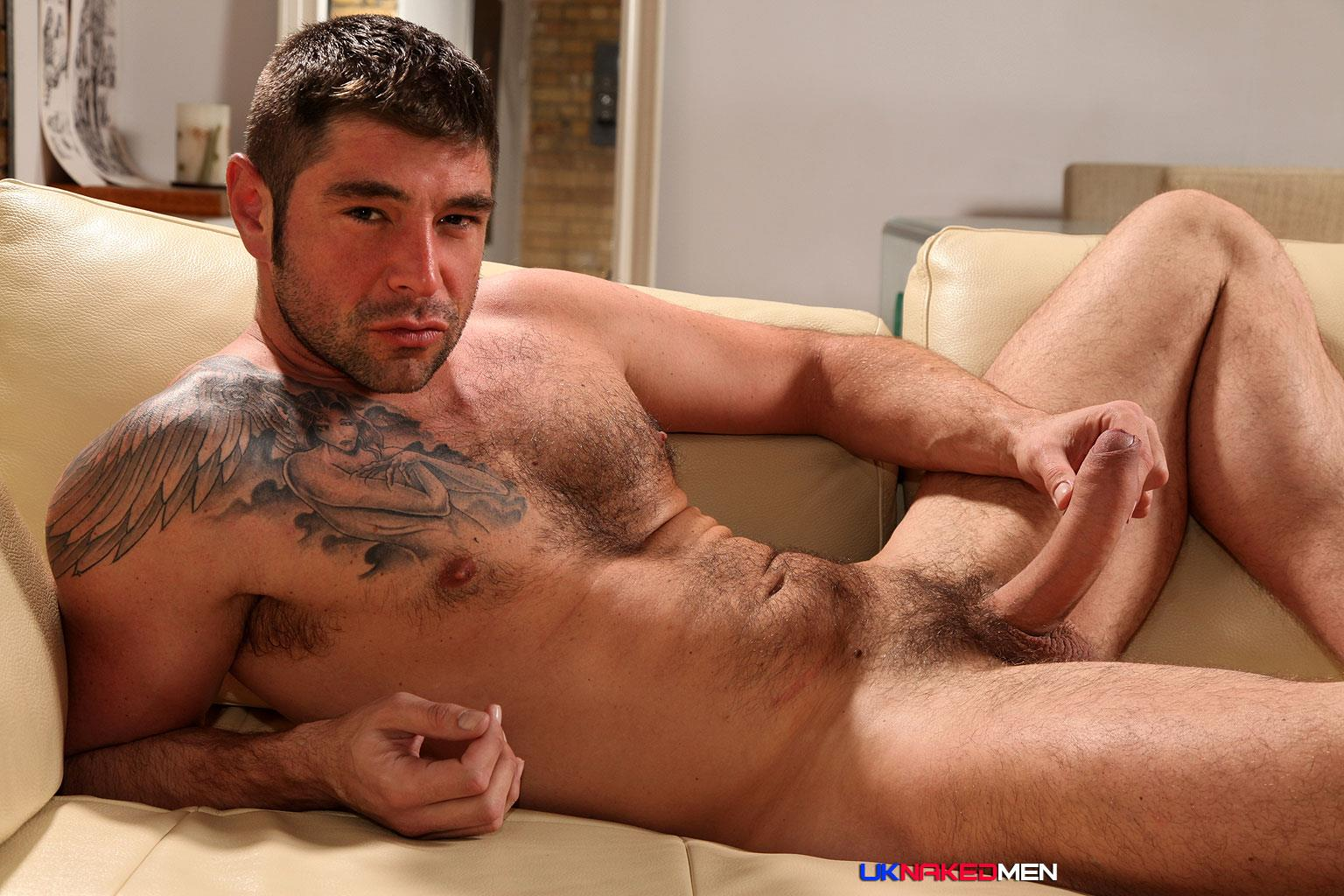 hairy chested muscular men