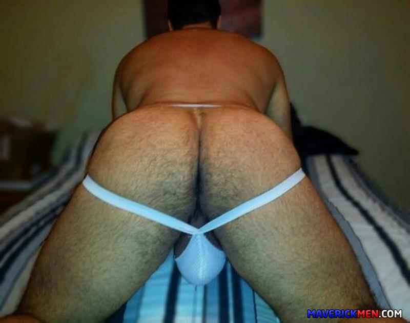 Maverick-Men-Grumpy-Hairy-Bear-Gets-Fucked-By-Two-Big-Daddy-Cocks-Amateur-Gay-Porn-6 The Maverick Men Bareback Tag Team A Hairy Bear Ass