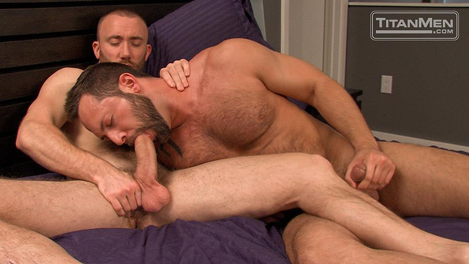Titan-Men-Nick-Prescott-and-Tyler-Edwards-Hairy-Muscle-Hunks-Fucking-With-Big-Cocks-Amateur-Gay-Porn-09 Hairy Muscle Boyfriends Nick Prescott and Tyler Edwards Fucking