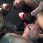 Raw Fuck Club Raw Fuck Club Max Cameron and Christian Matthews and Kory Mitchel and Dean Brody Bareback Bathhouse Amateur Gay Porn 5 150x150 Four Way Bareback Fucking And Cum Fest At The Bathhouse