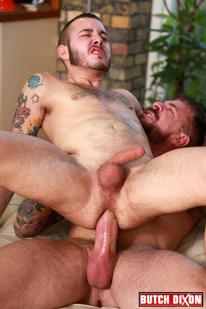 Butch-Dixon-Rocco-Steele-and-Damian-Gomez-Uncut-Cock-Guy-Gets-barebacked-by-huge-cock-daddy-Amateur-Gay-Porn-18 Uncut Cock Cub Gets Fucked By A Huge Muscle Daddy Cock