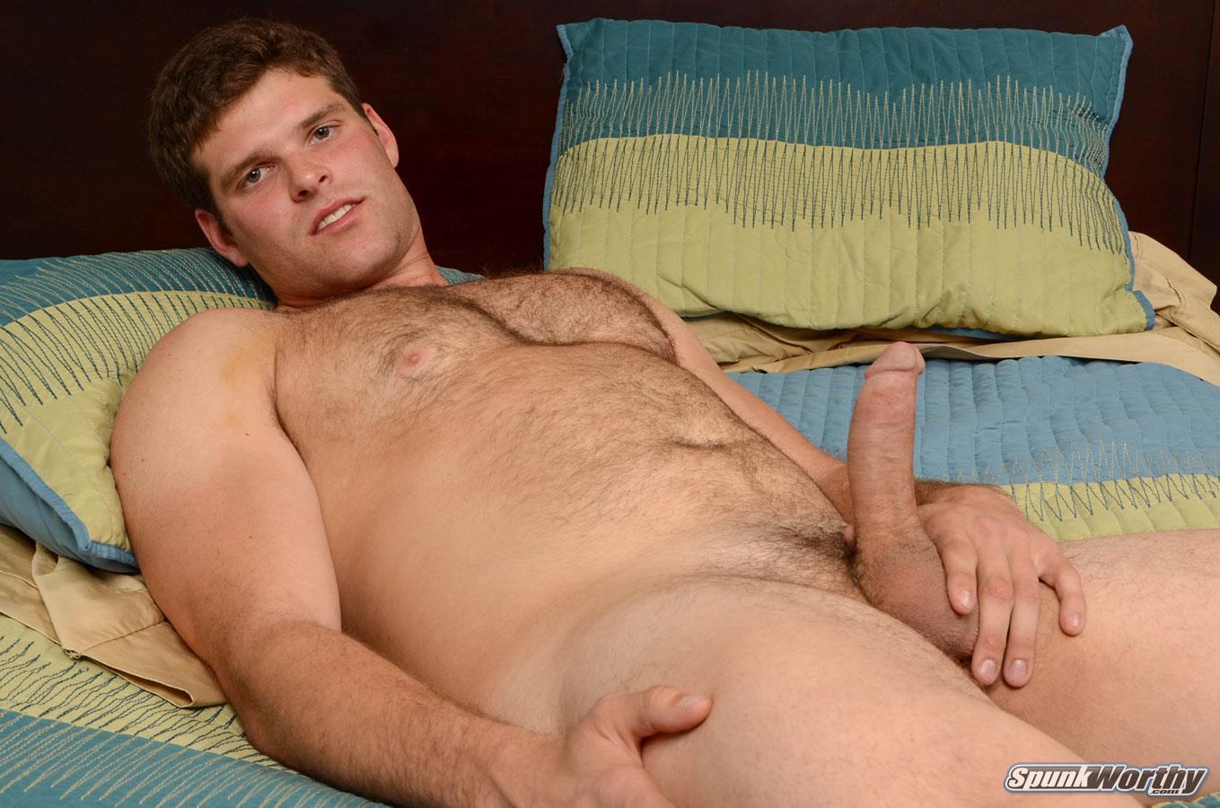 SpunkWorthy-Jake-Straight-Hairy-Navy-Bear-Cub-Jerking-Off-Amateur-Gay-Porn-16 Straight Hairy Navy Bear Cub Jerks His Hairy Cock
