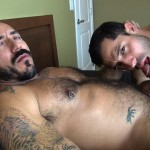 Dudes-Raw-Alessio-Romero-and-Nick-Cross-Hairy-Latino-Muscle-Daddy-Barebacking-Amateur-Gay-Porn-06-150x150 Hairy Muscle Daddy Alessio Romero Barebacking Nick Cross