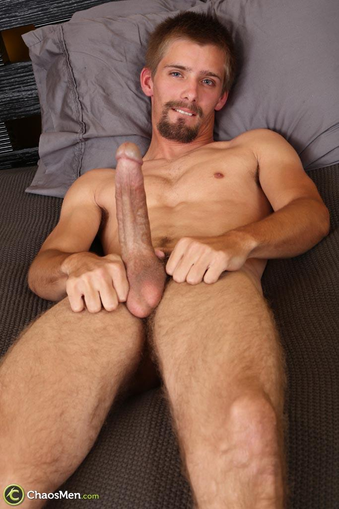 "Chaosmen-Augustine-Straight-Guy-With-A-Big-Horse-Cock-Amateur-Gay-Porn-23 Skinny Redneck With A Hairy Ass Stroking His 10"" Cock"