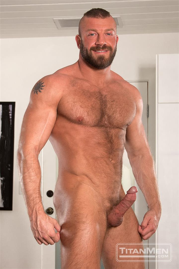 Titanmen-Titan-Hunter-Marx-and-Dirk-Caber-Hairy-Muscle-Daddy-Fuck-Amateur-Gay-Porn-14 Dirk Carber Gets Fucked Hard By Another Muscle Daddy With A Thick Cock