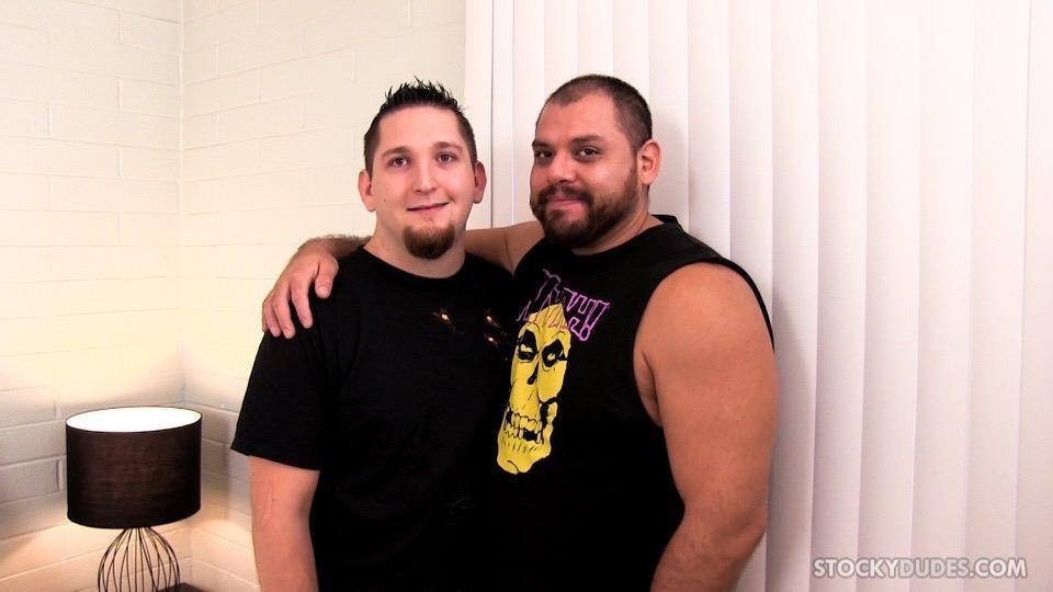 Stocky-Dudes-Dylan-Ventura-and-Evan-Ellis-Bear-and-A-Cub-Bareback-Amateur-Gay-Porn-01 Chubby Cub And A Hairy Muscle Bear In A Bareback Fuck