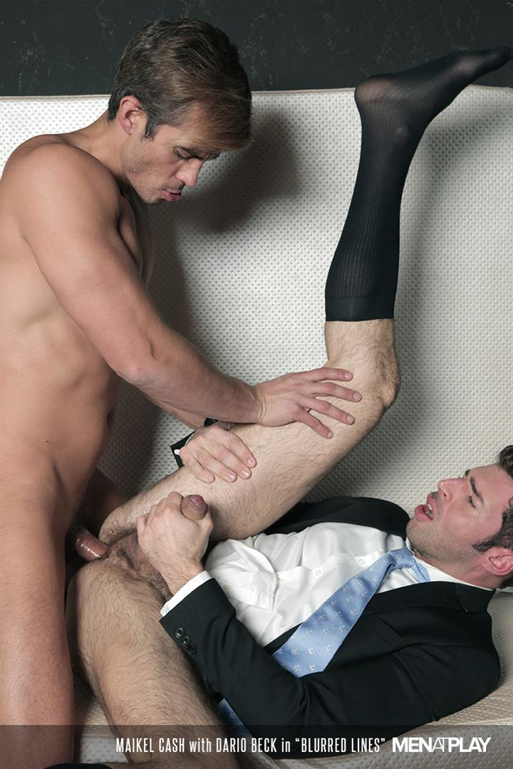 Men-At-Play-Dario-Beck-and-Maikel-Cash-Guys-In-Suits-Fucking-Amateur-Gay-Porn-20 Dario Beck Gets His Hairy Ass Fucked By Maikel Cash's Thick Uncut Dick