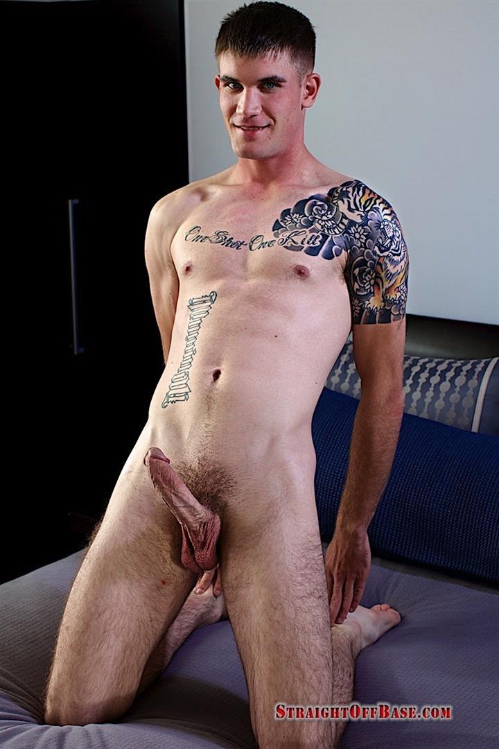 Straight-Off-Base-Brady-Naked-Marine-Jerking-Off-Big-Cock-Video-14 Straight Marine Jerks His Big Dick On Camera For Cash
